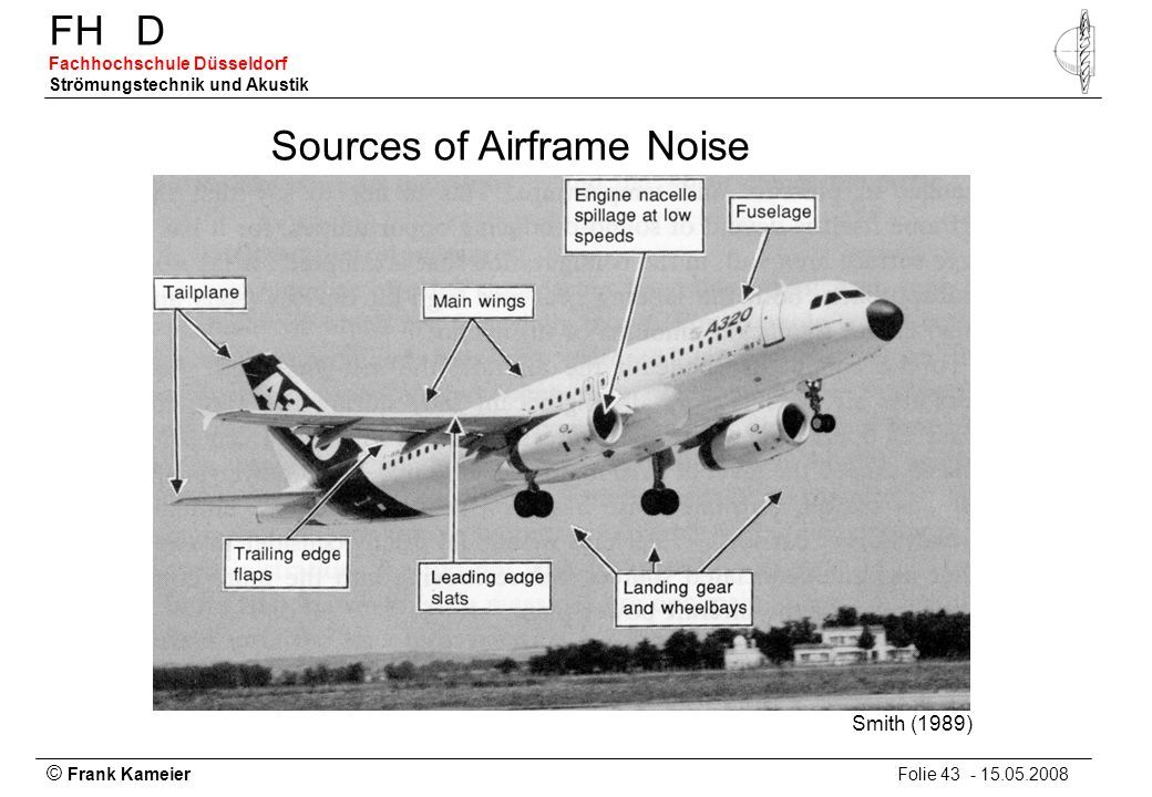 Sources of Airframe Noise