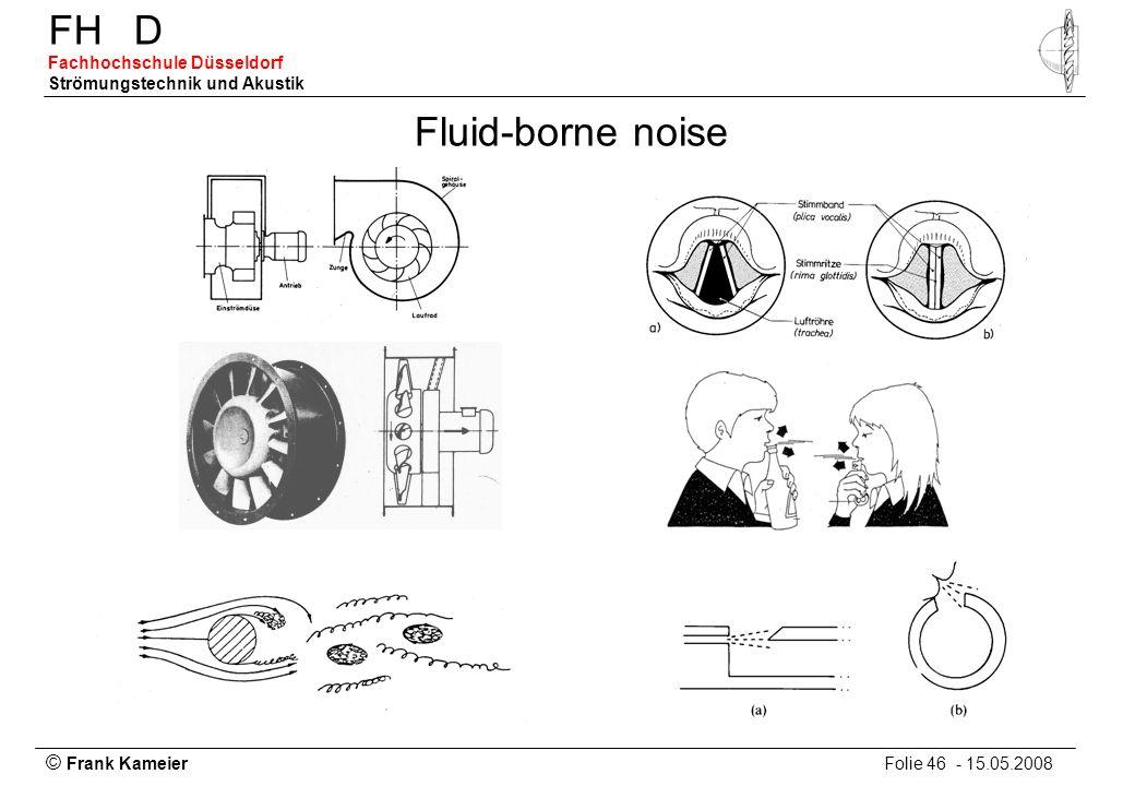 Fluid-borne noise