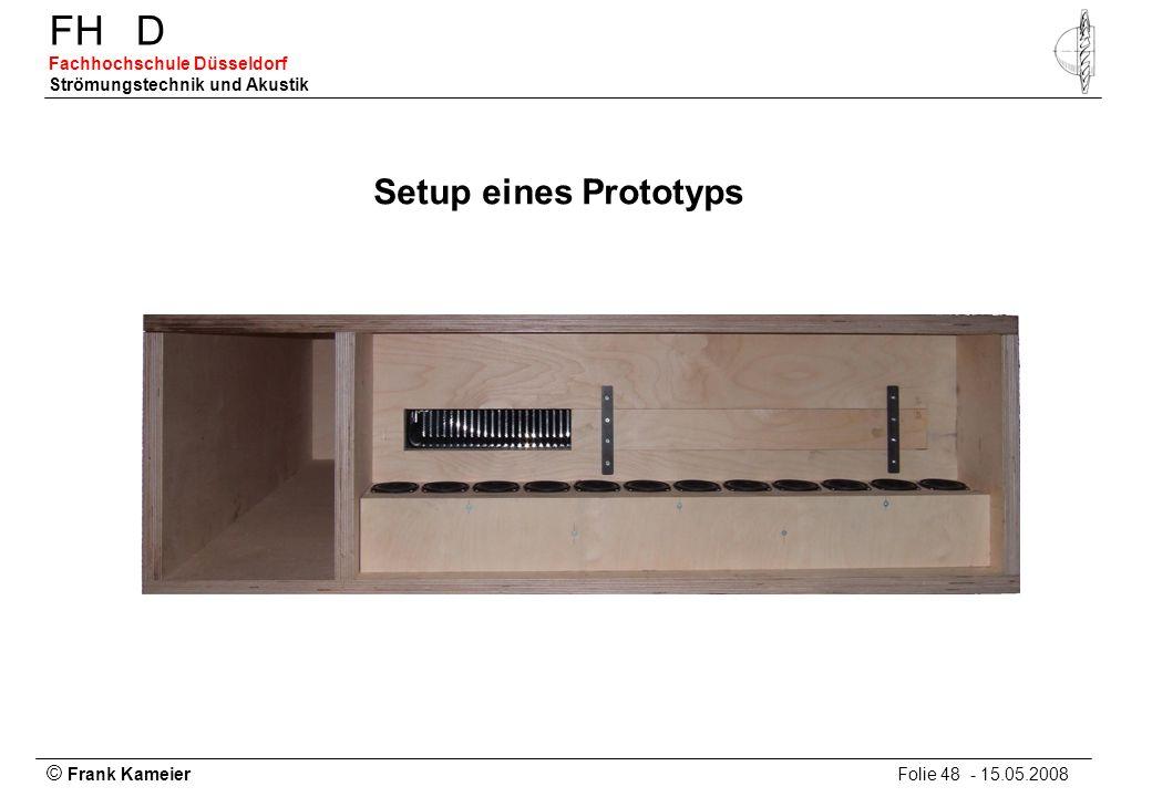 Setup eines Prototyps