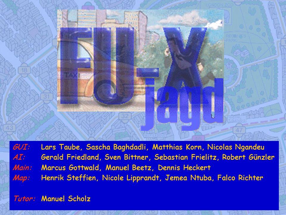 GUI: Lars Taube, Sascha Baghdadli, Matthias Korn, Nicolas Ngandeu