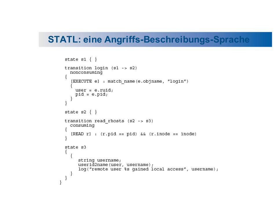 STATL: eine Angriffs-Beschreibungs-Sprache