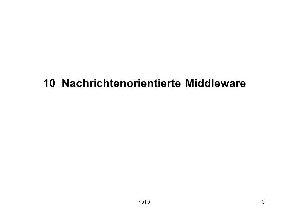10 Nachrichtenorientierte Middleware