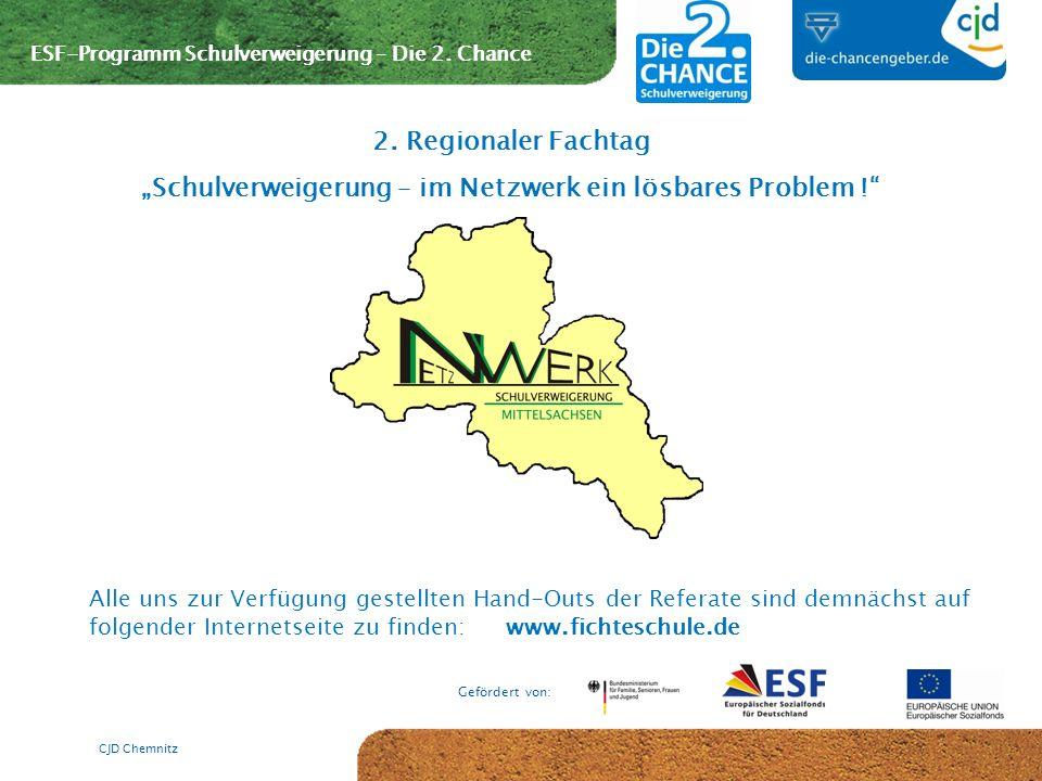 """""""Schulverweigerung – im Netzwerk ein lösbares Problem !"""