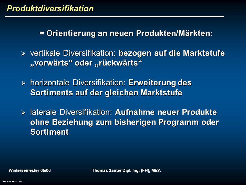 Produktdiversifikation