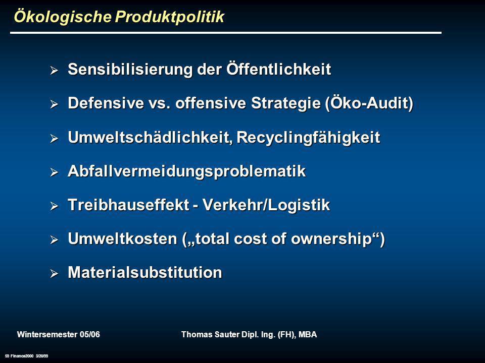 Ökologische Produktpolitik