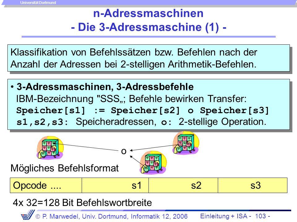 n-Adressmaschinen - Die 3-Adressmaschine (1) -
