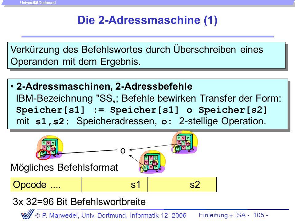 Die 2-Adressmaschine (1)