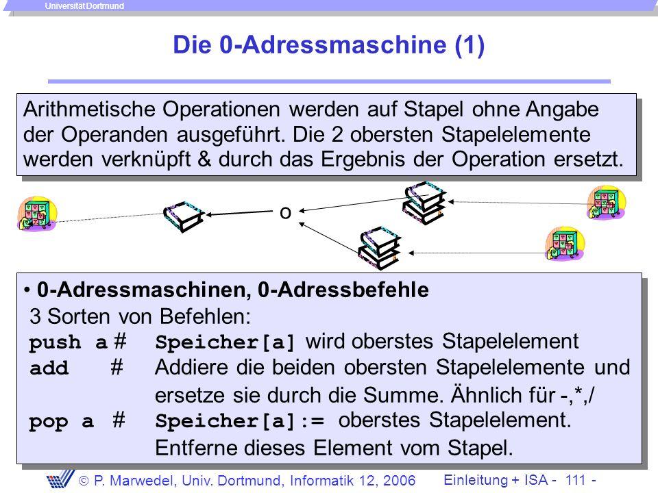 Die 0-Adressmaschine (1)