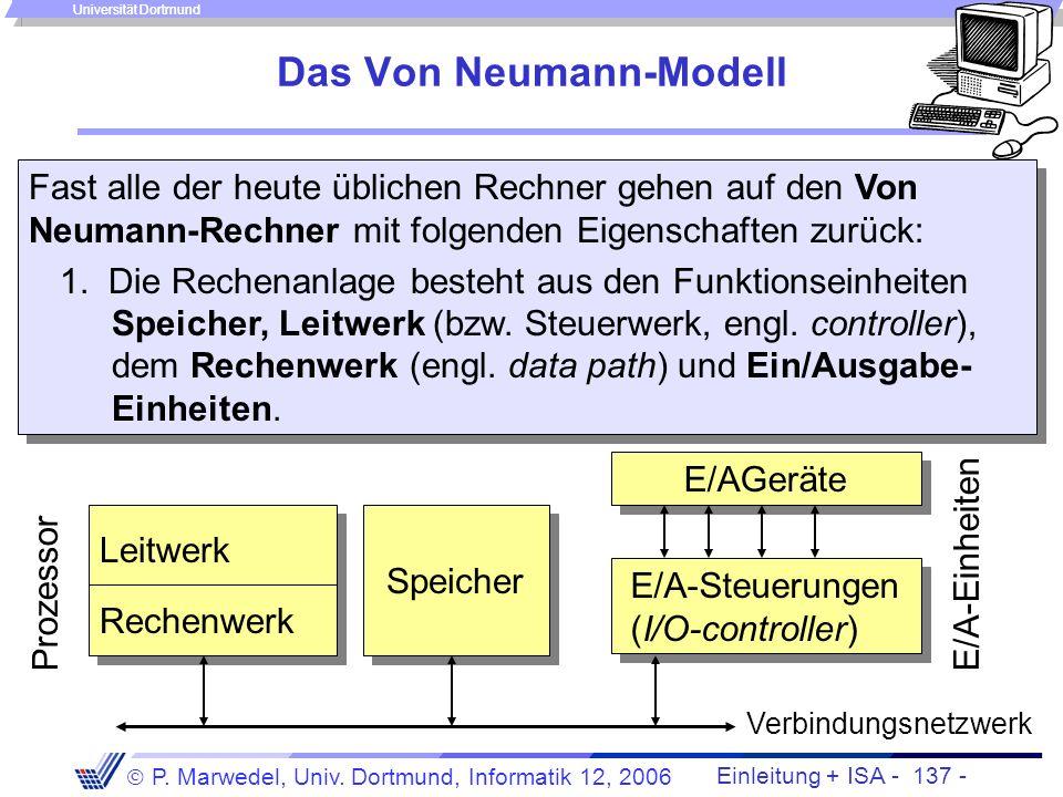 Das Von Neumann-Modell