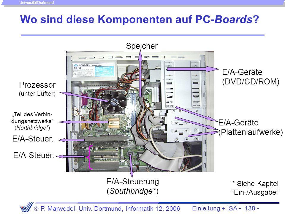 Wo sind diese Komponenten auf PC-Boards