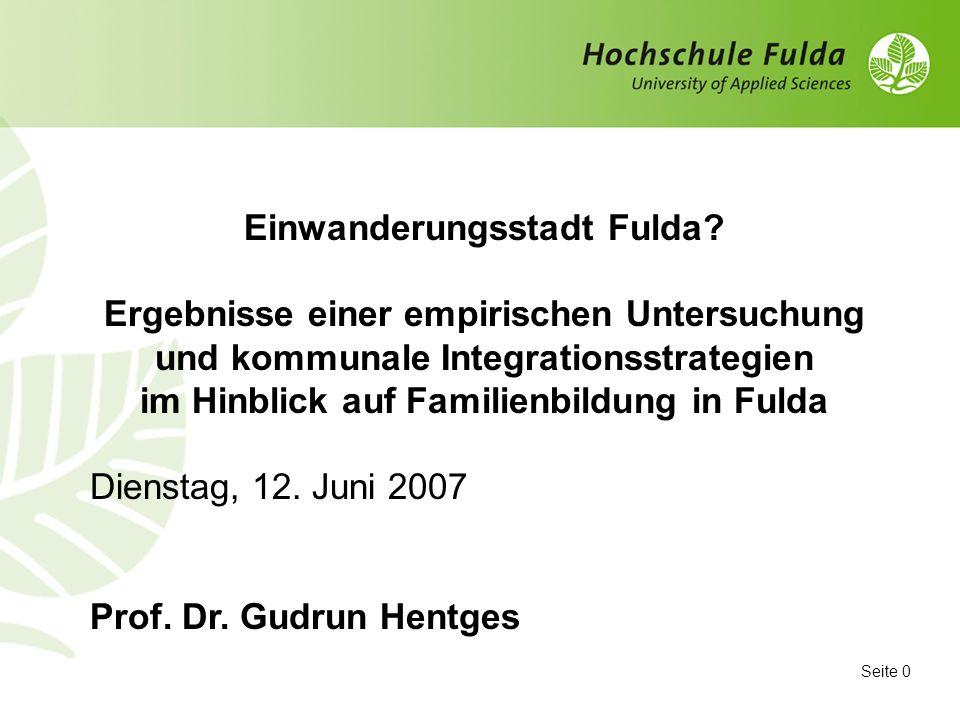 Einwanderungsstadt Fulda