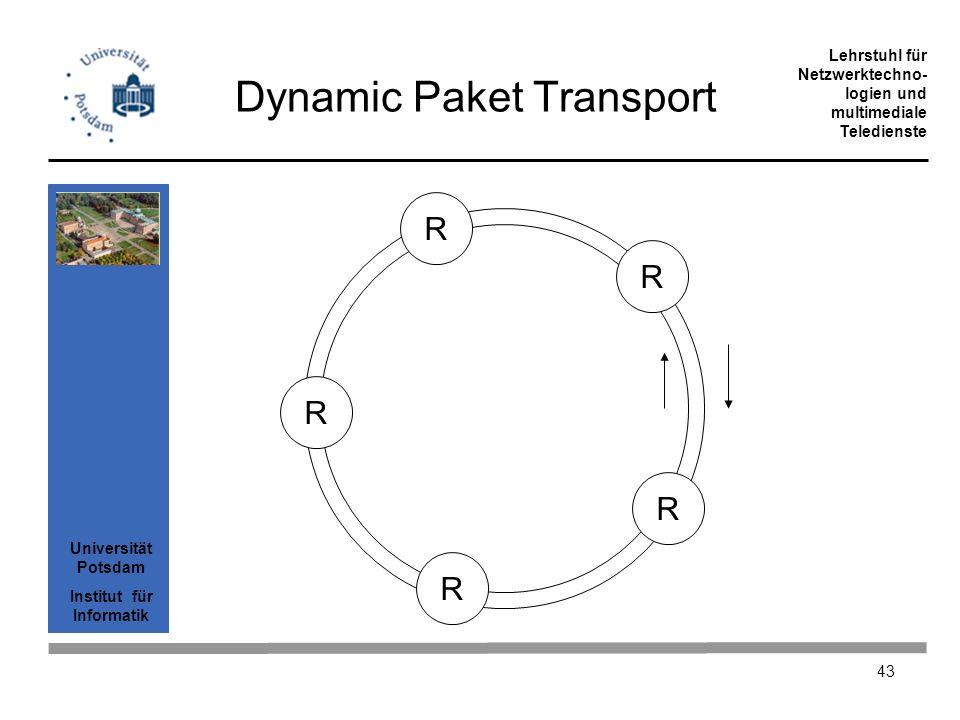Dynamic Paket Transport