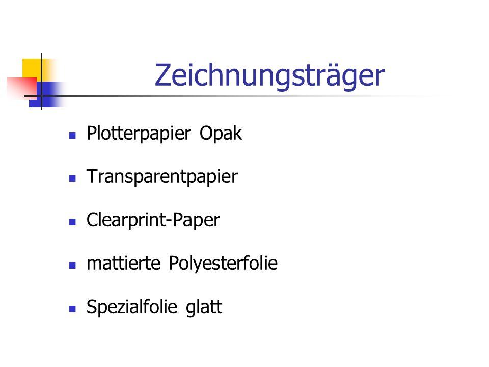 Zeichnungsträger Plotterpapier Opak Transparentpapier Clearprint-Paper