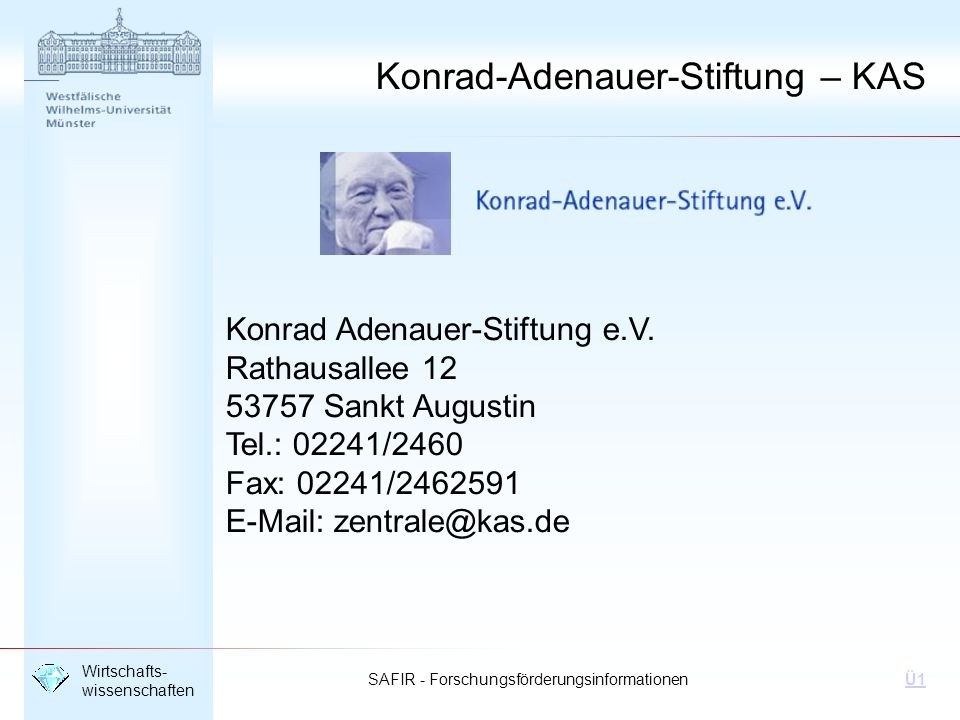 Konrad-Adenauer-Stiftung – KAS