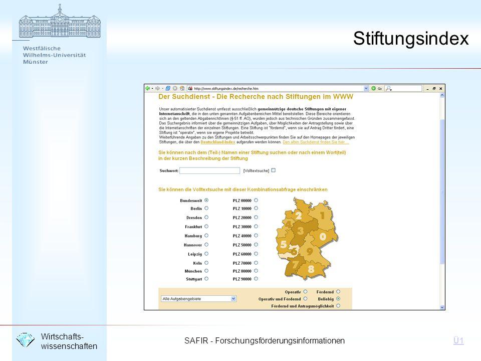 Stiftungsindex