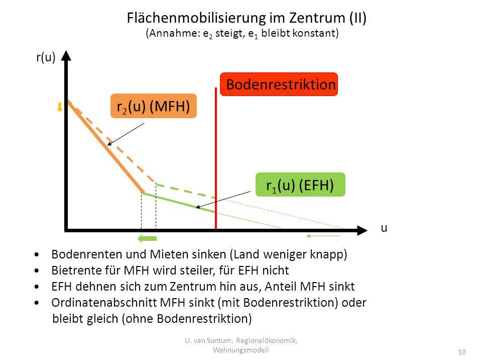 Flächenmobilisierung im Zentrum (II)