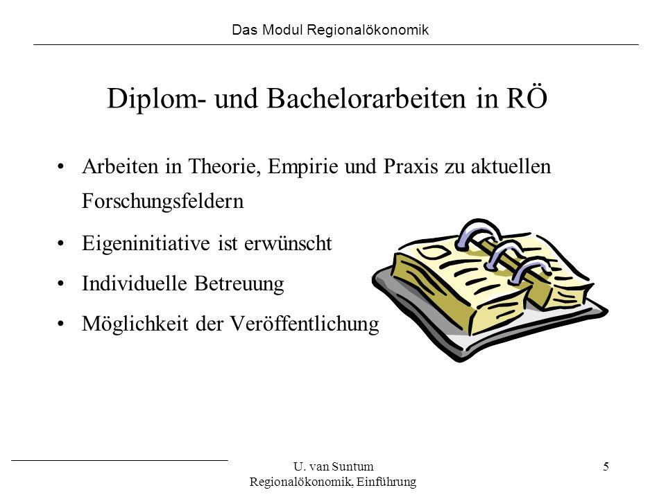 Diplom- und Bachelorarbeiten in RÖ