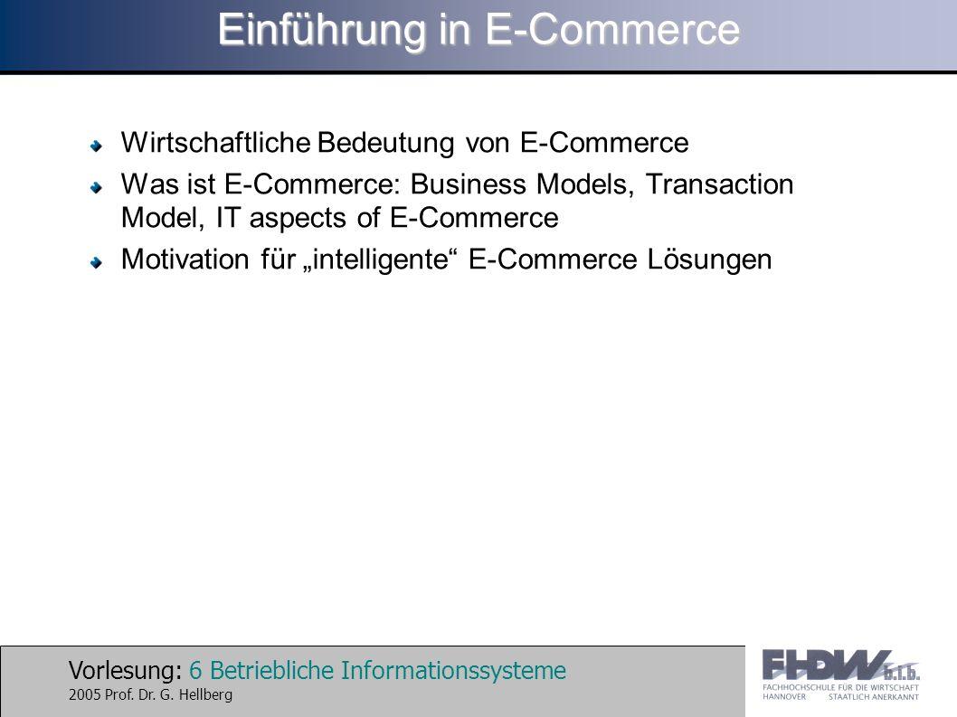 Einführung in E-Commerce