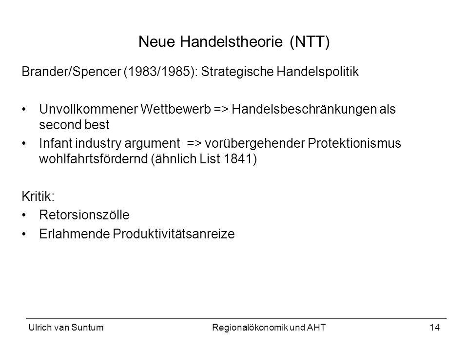 Neue Handelstheorie (NTT)