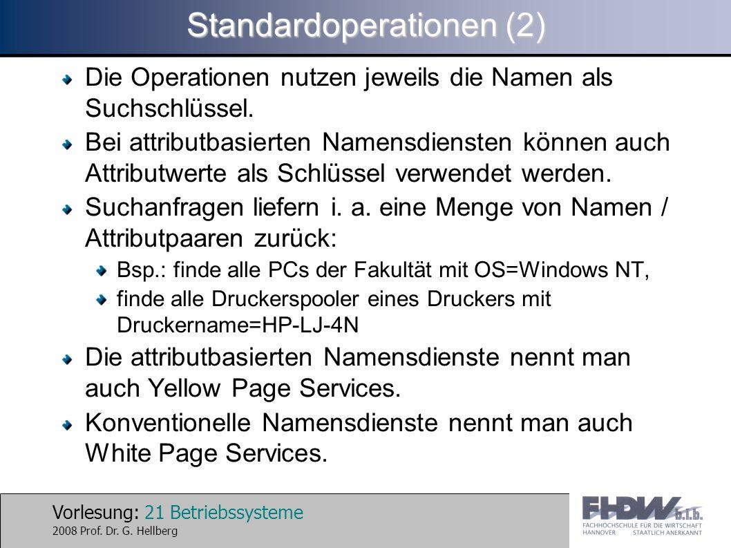 Standardoperationen (2)