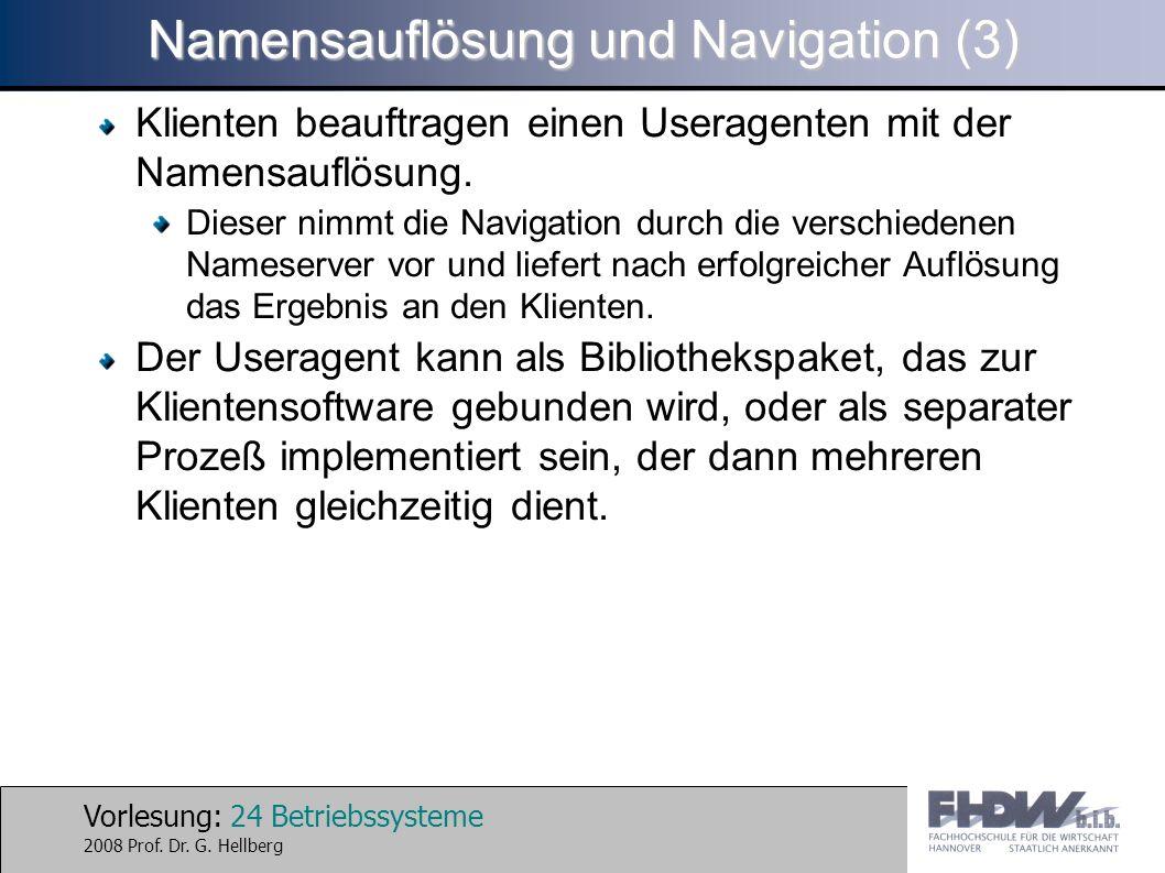 Namensauflösung und Navigation (3)