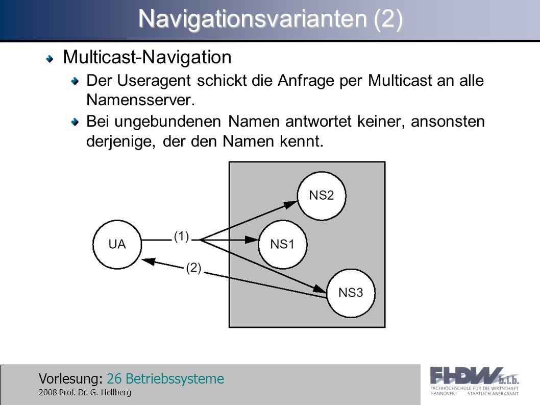 Navigationsvarianten (2)