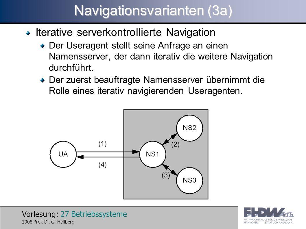 Navigationsvarianten (3a)