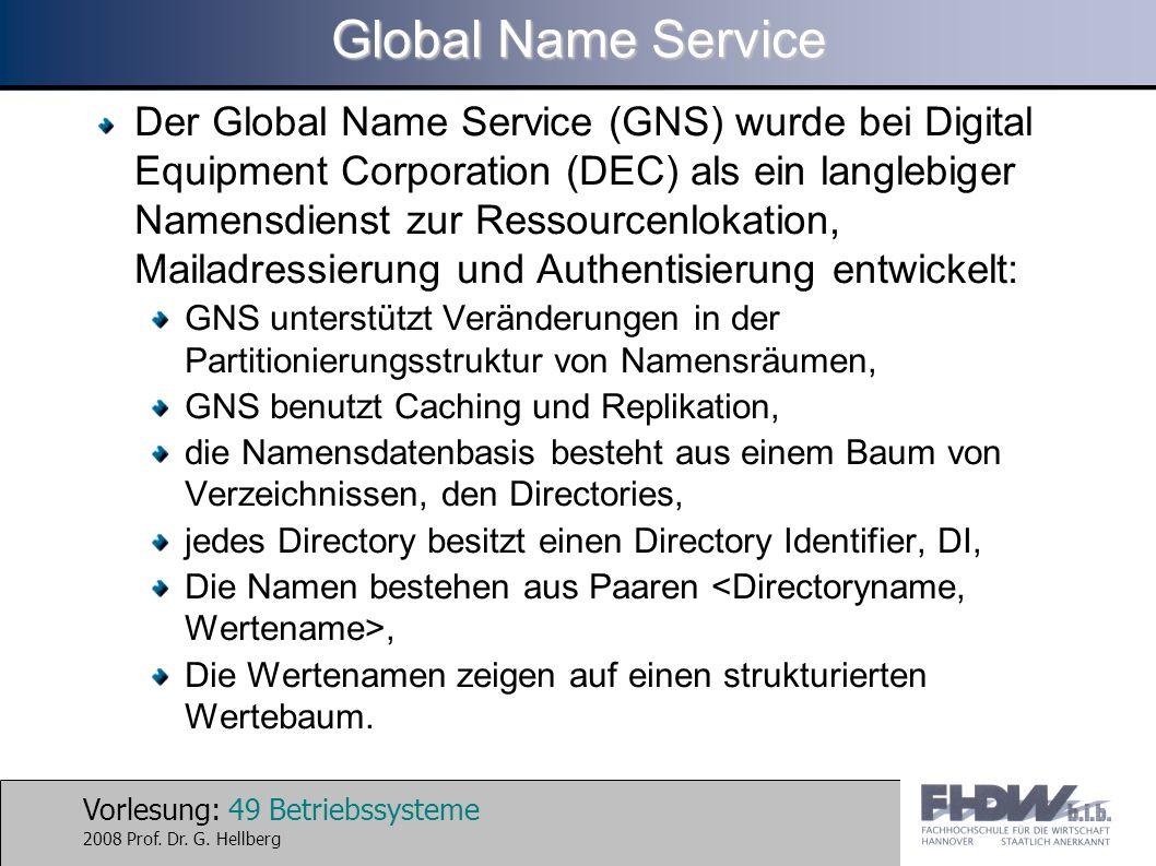 Global Name Service