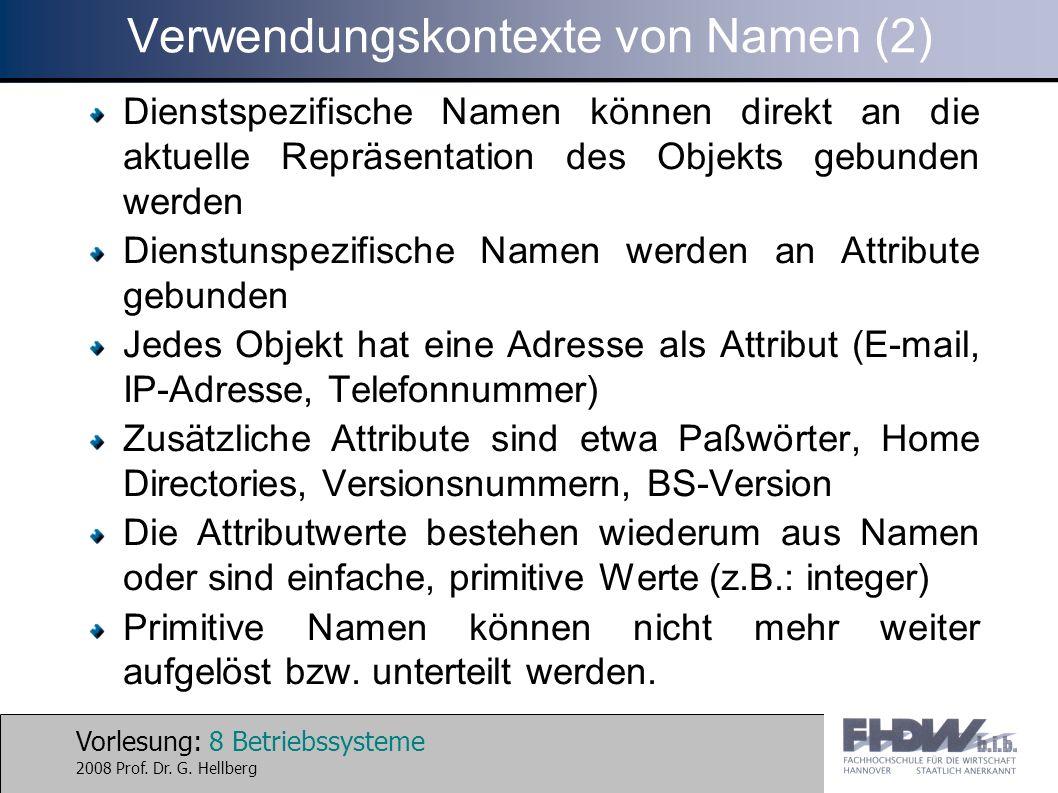 Verwendungskontexte von Namen (2)
