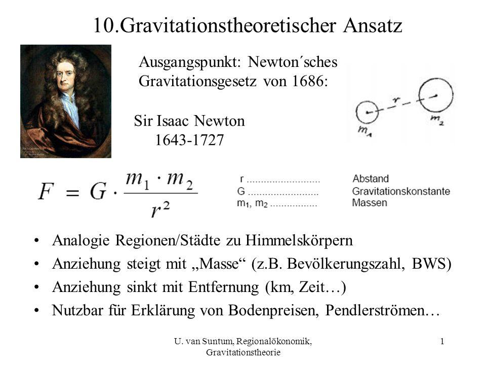 10.Gravitationstheoretischer Ansatz