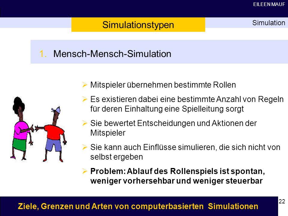 Mensch-Mensch-Simulation