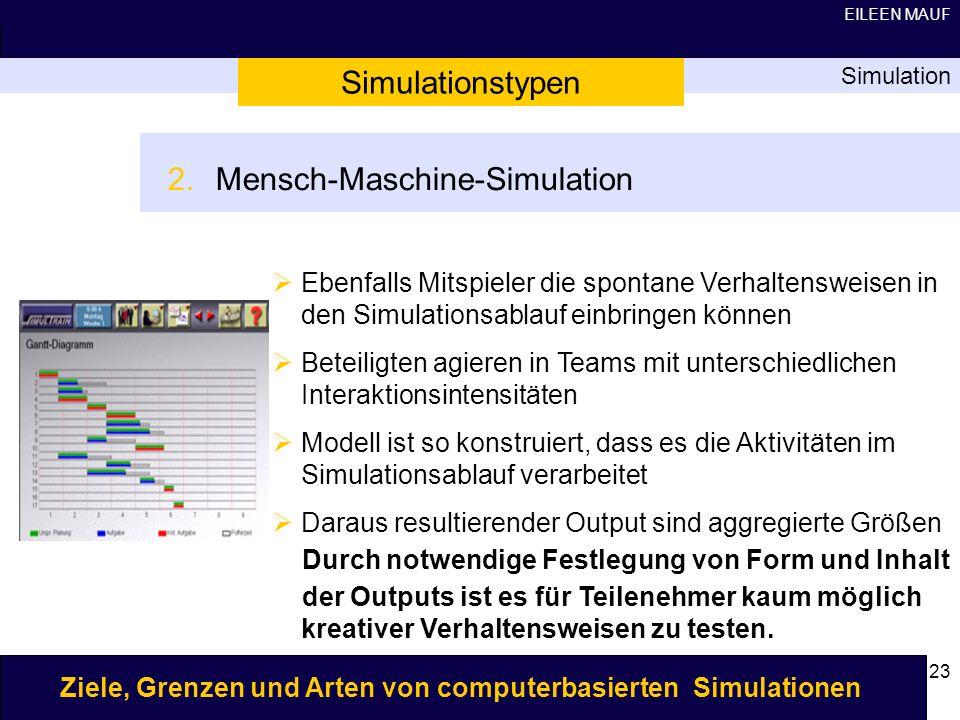 Mensch-Maschine-Simulation