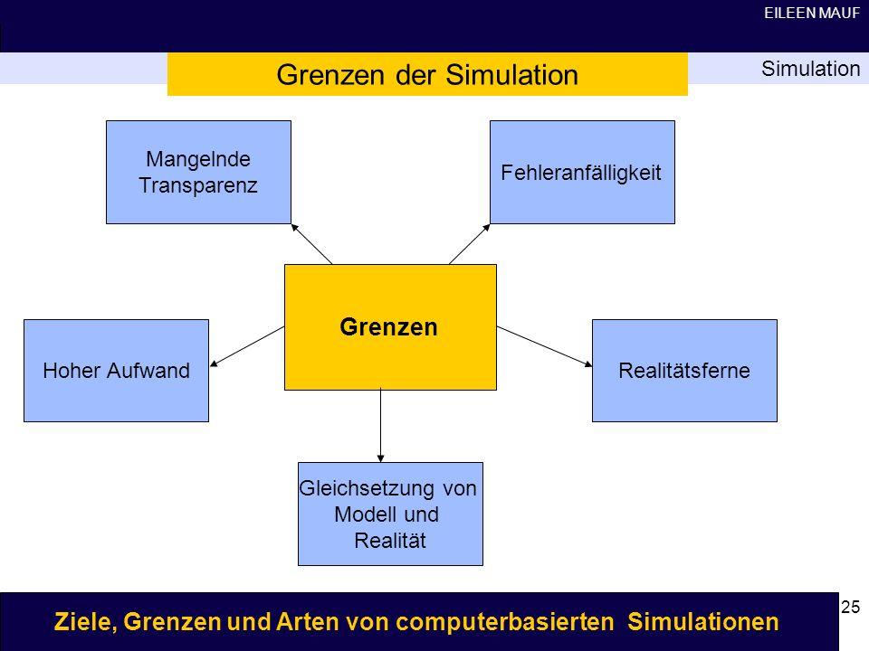 Grenzen der Simulation