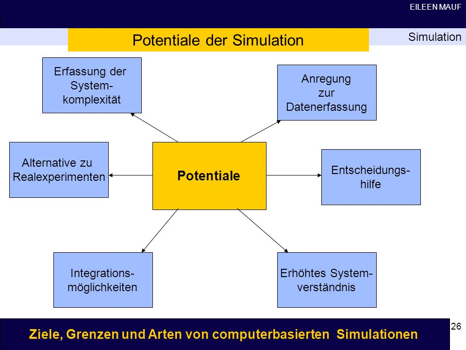 Potentiale der Simulation