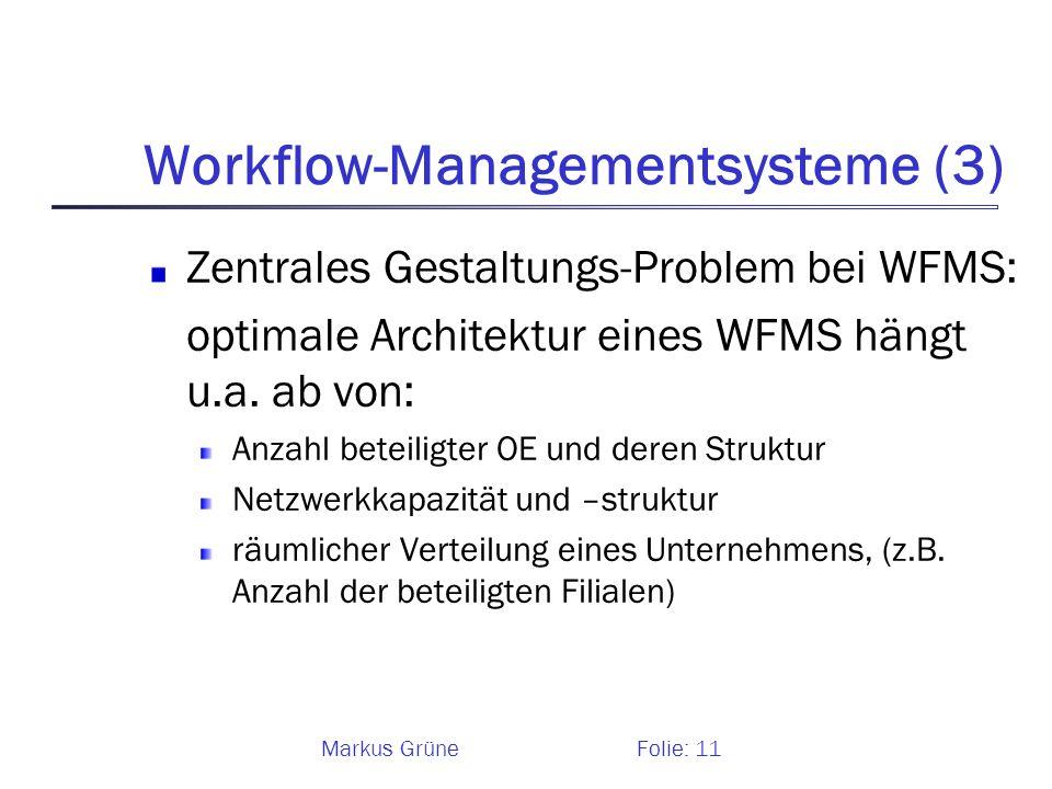Workflow-Managementsysteme (3)