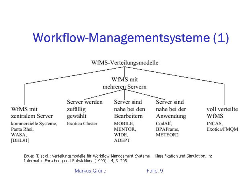 Workflow-Managementsysteme (1)