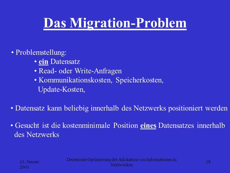 Das Migration-Problem