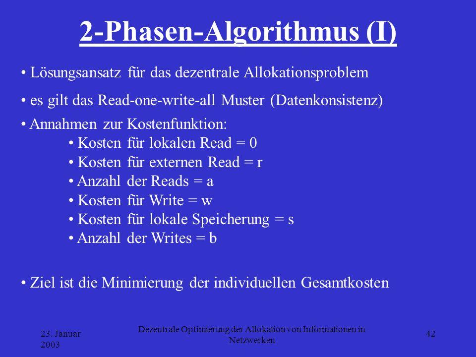 2-Phasen-Algorithmus (I)
