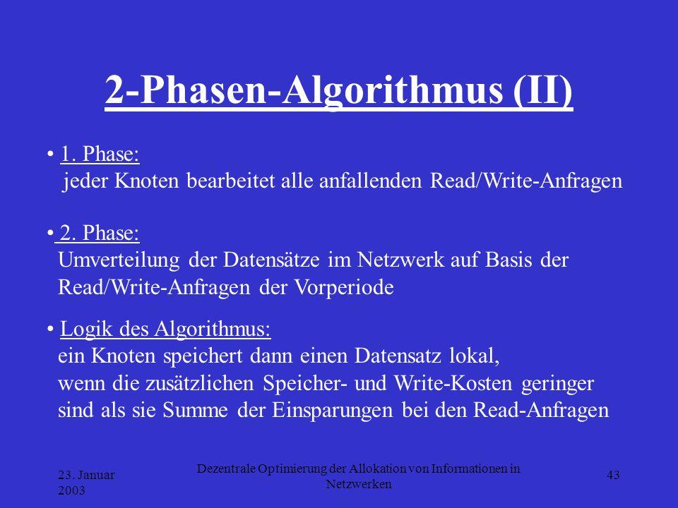 2-Phasen-Algorithmus (II)