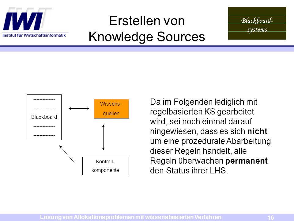 Erstellen von Knowledge Sources