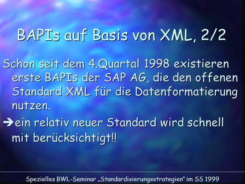BAPIs auf Basis von XML, 2/2