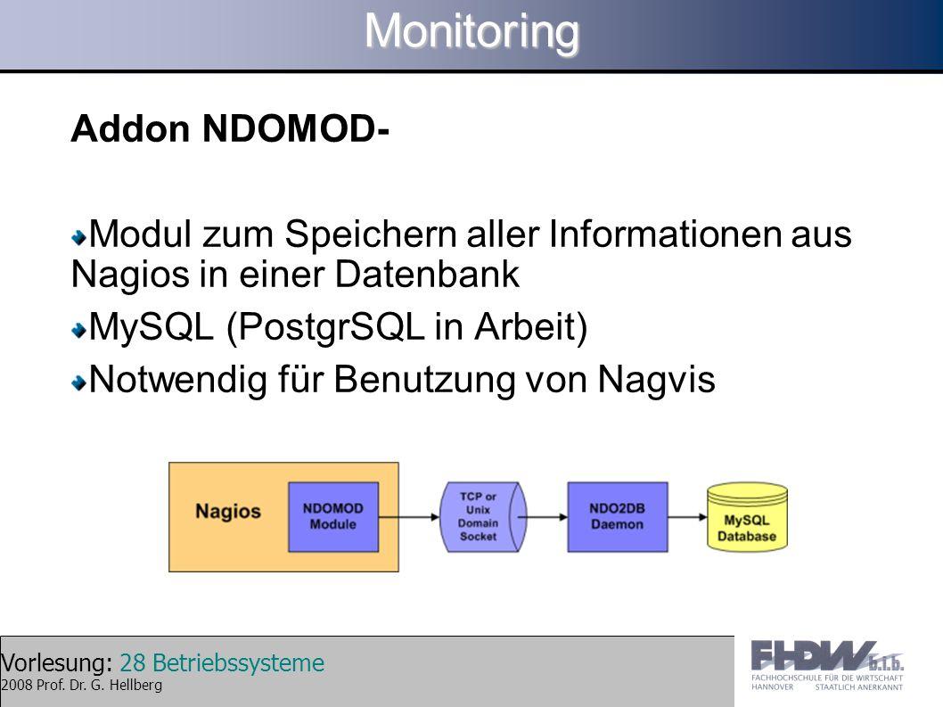 Monitoring Addon NDOMOD-