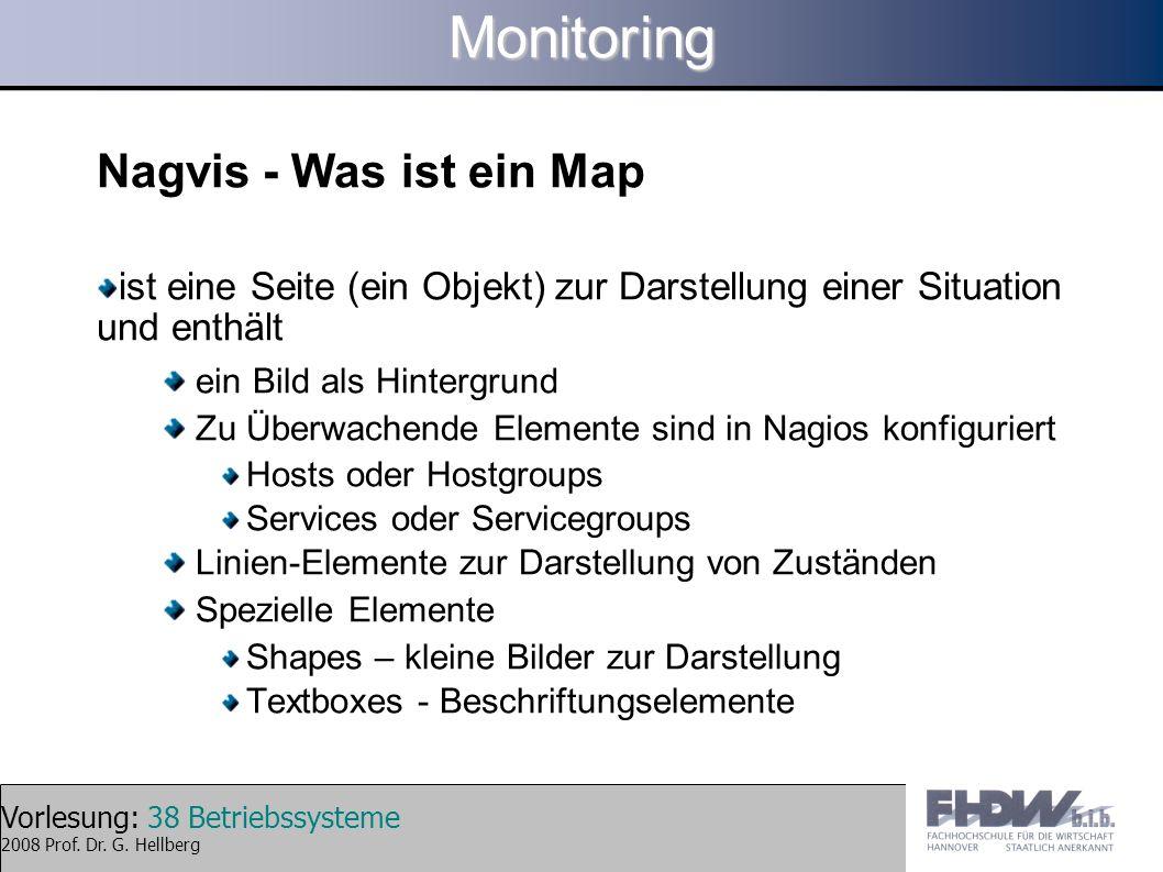 Monitoring Nagvis - Was ist ein Map