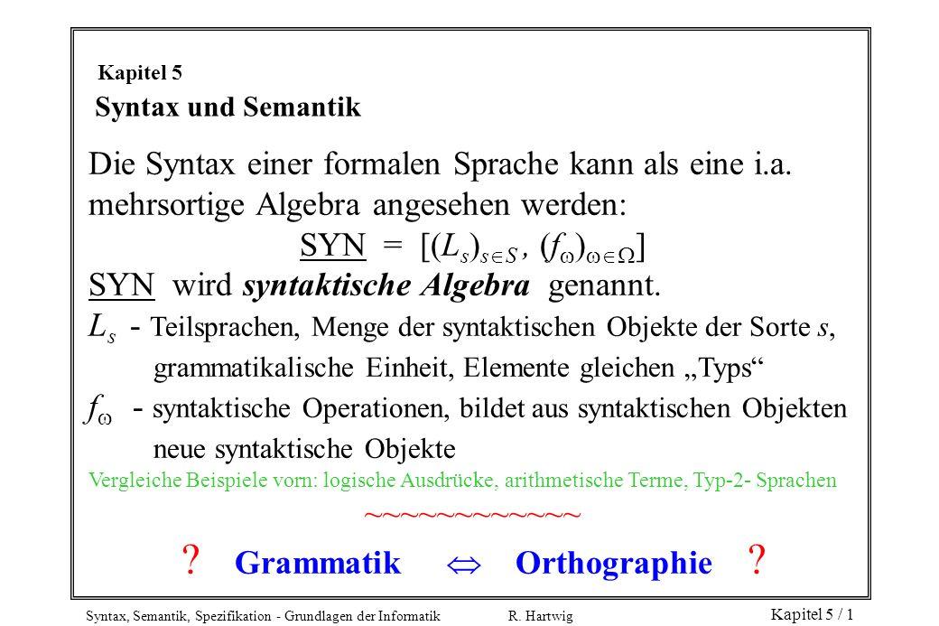 Grammatik  Orthographie