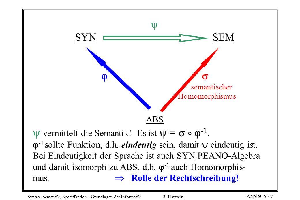  vermittelt die Semantik! Es ist  =   -1.