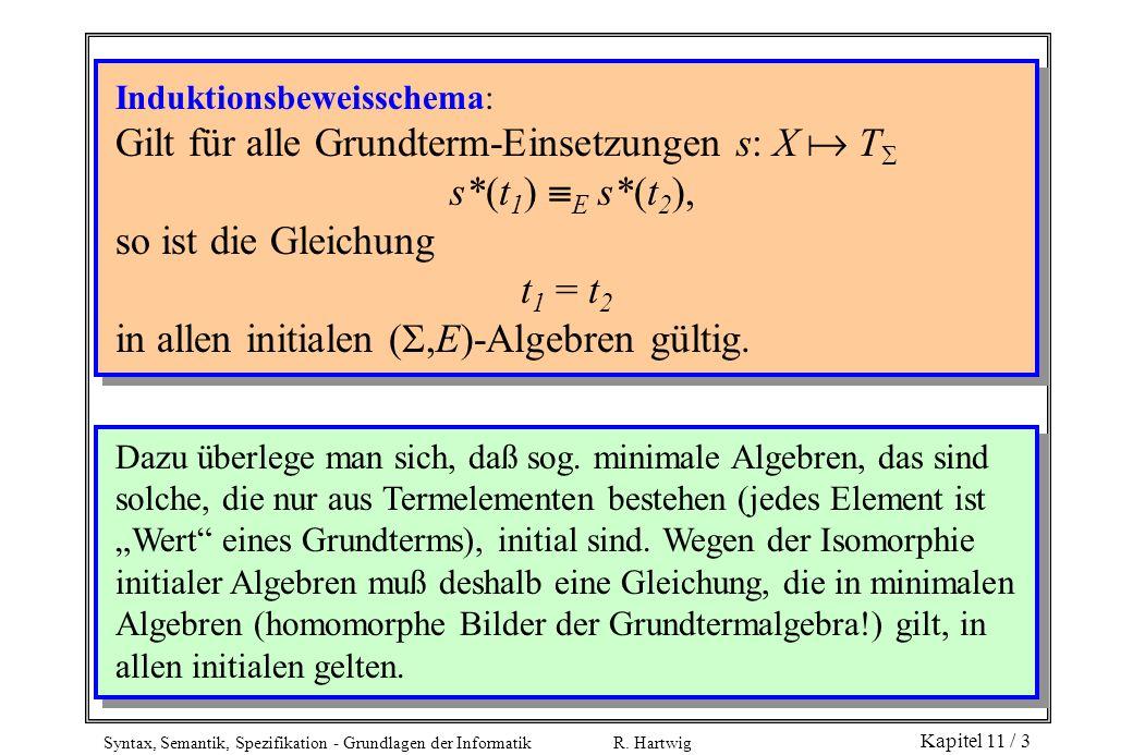 Gilt für alle Grundterm-Einsetzungen s: X  T s*(t1) E s*(t2),