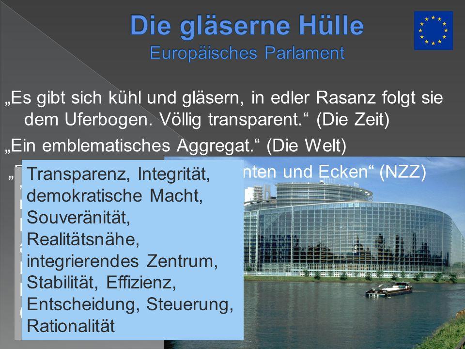 Die gläserne Hülle Europäisches Parlament