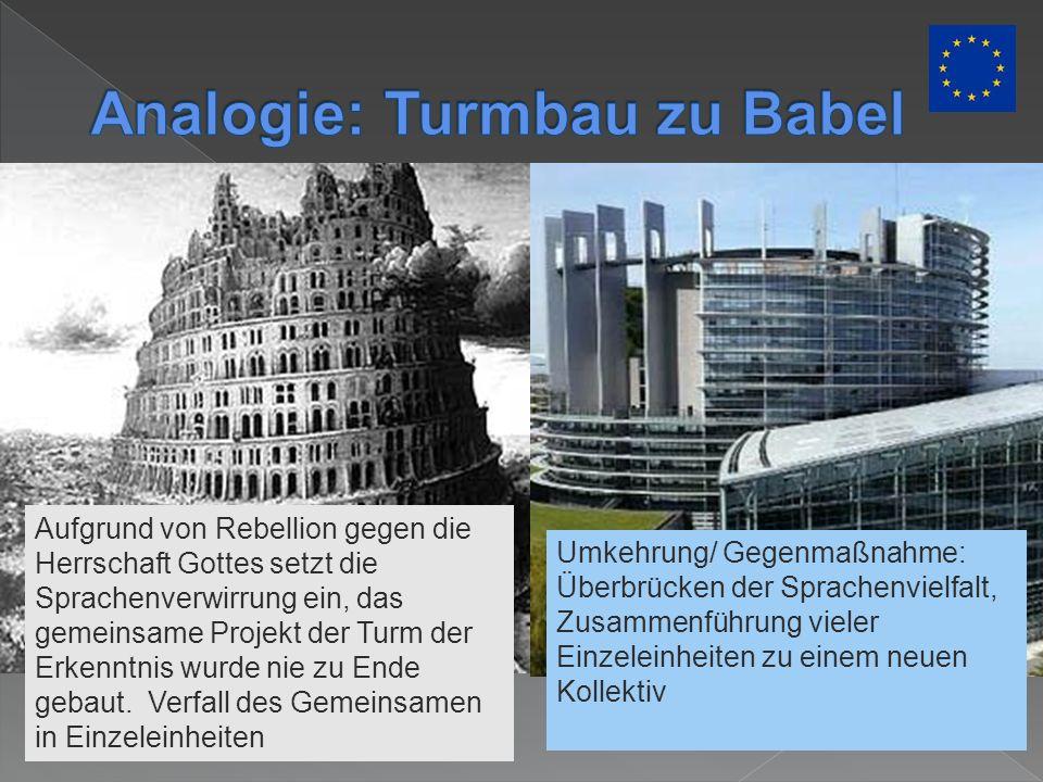Analogie: Turmbau zu Babel