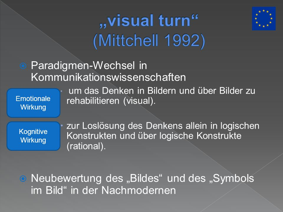 """visual turn (Mittchell 1992)"
