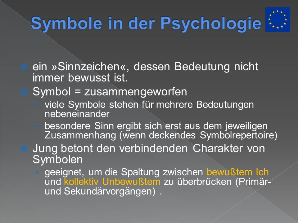 Symbole in der Psychologie